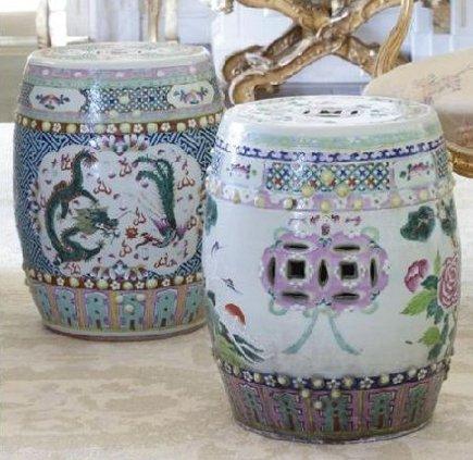 Chinese Garden Seat Inside Fifi Ceramic Garden Stools (View 16 of 20)