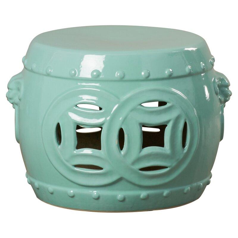 Popular Photo of Kujawa Ceramic Garden Stools
