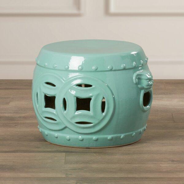 Kujawa Ceramic Garden Stool Pertaining To Kujawa Ceramic Garden Stools (View 2 of 20)