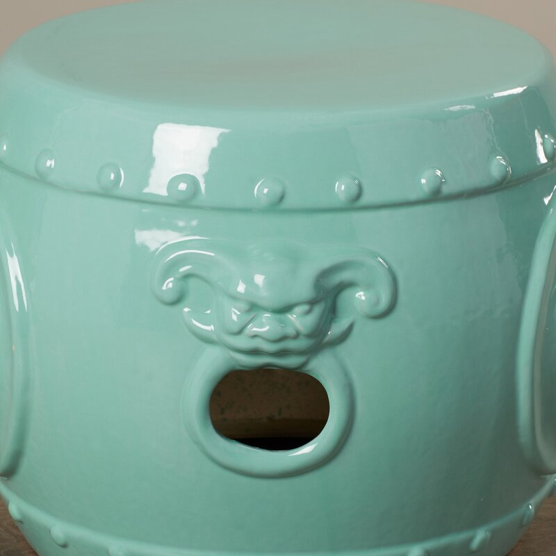 Kujawa Ceramic Garden Stool With Regard To Kujawa Ceramic Garden Stools (View 5 of 20)