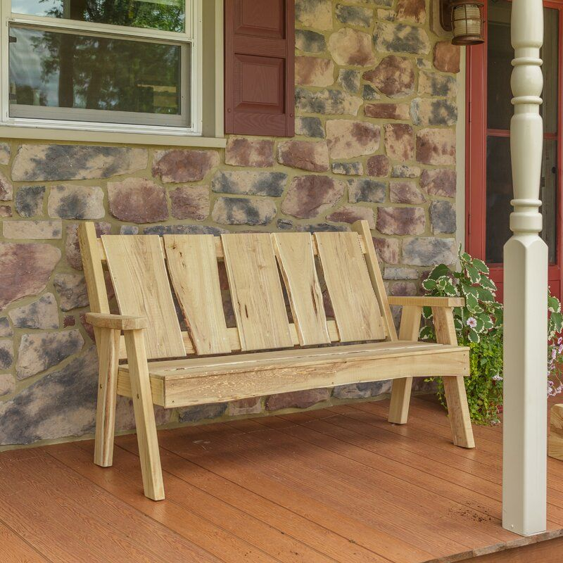 Lucille Timberland Wooden Garden Bench In 2020 | Wooden For Lucille Timberland Wooden Garden Benches (View 4 of 20)