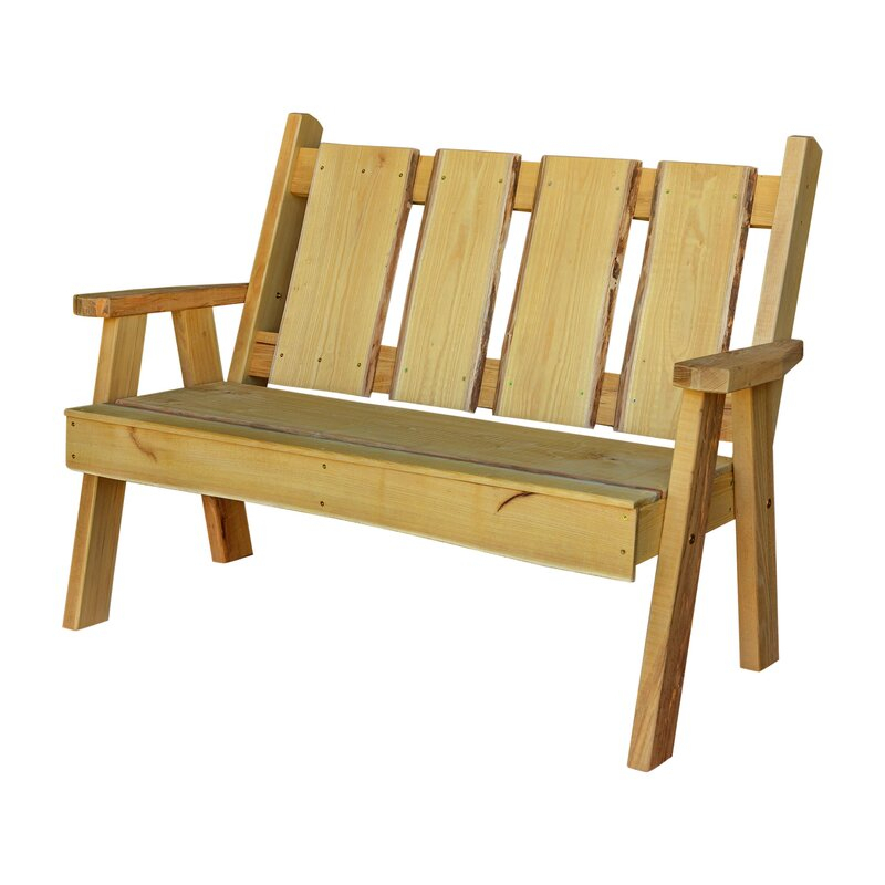 Popular Photo of Lucille Timberland Wooden Garden Benches