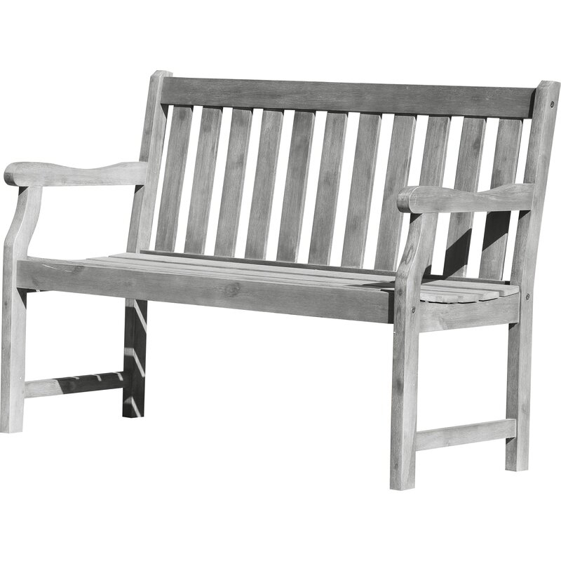 Popular Photo of Manchester Wooden Garden Benches