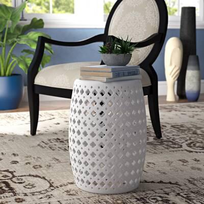 Orren Ellis Bonville Ceramic Garden Stool | Wayfair (View 12 of 20)