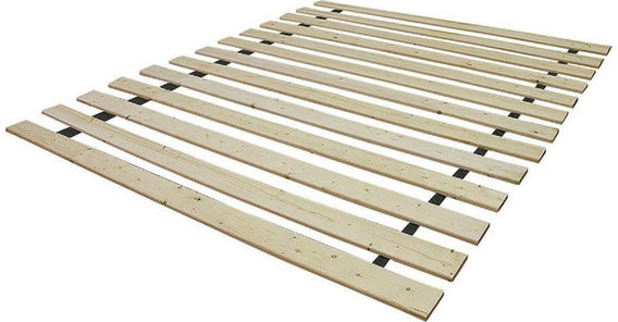 Twin Bed Slats, Unfinished Inside Lucille Timberland Wooden Garden Benches (View 18 of 20)
