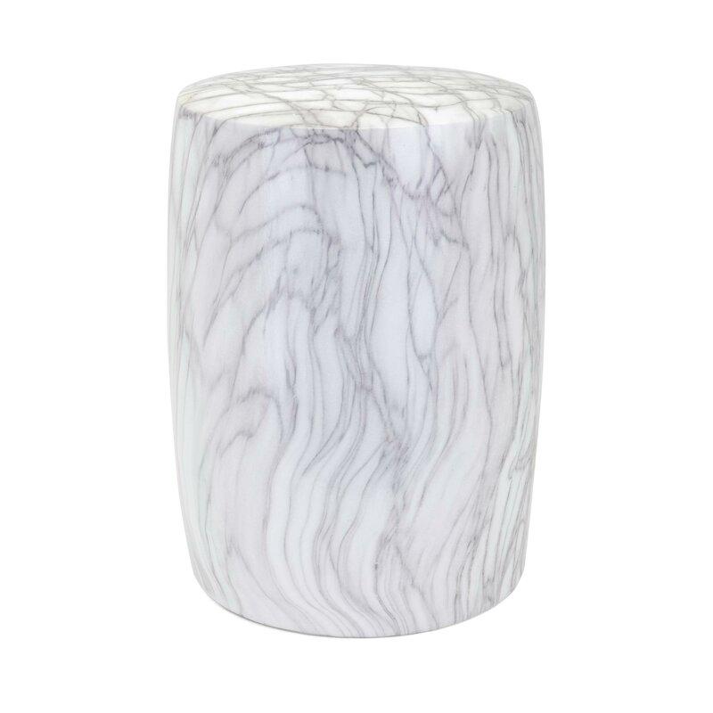 Wawona Ceramic Cylindrical Garden Stool Inside Aloysius Ceramic Garden Stools (View 10 of 20)