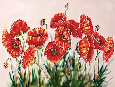 Wild Poppies 11x14 – Terra Greenhouses With Regard To Wilde Poppies Ceramic Garden Stools (View 15 of 20)