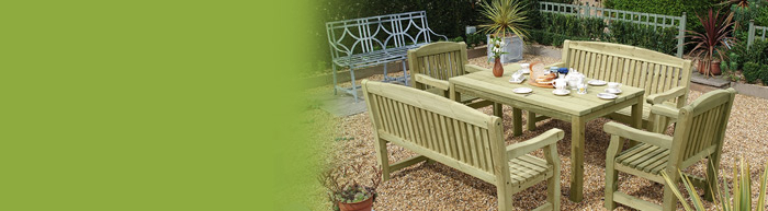 Wooden Garden Furniture   Cocklestorm Fencing Ltd In Manchester Wooden Garden Benches (View 19 of 20)