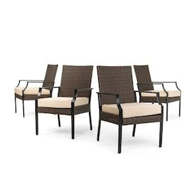 """2019 72"""" L Breakroom Tables And Chair Set With Allen + Roth Mcaden Rectangle Wicker Outdoor Coffee Table (View 9 of 20)"""