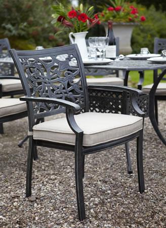 2019 Celtic Cast Aluminium Rectangular Garden Dining Set – £849 For  (View 11 of 20)