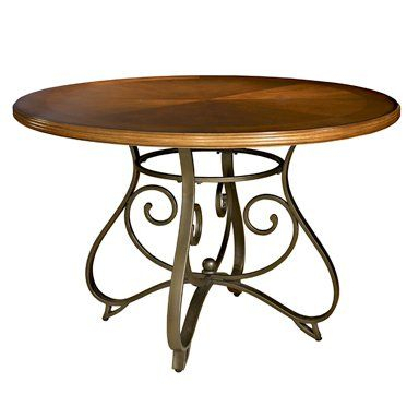Inspiration about 2020 Baring 35'' Dining Tables Inside Hamilton Dining Table (medium Cherry / Matte Pewter (#16 of 20)