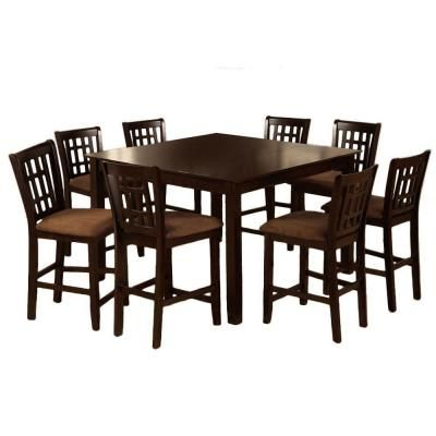 Inspiration about 2020 Hearne Counter Height Dining Tables With Regard To Venetian Worldwide Eleanor 7 Piece Counter Height Dining (#11 of 20)