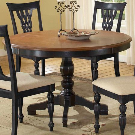 Inspiration about 2020 Servin 43'' Pedestal Dining Tables Intended For I'm Thinking My Old Oak Table Would Look Great Finished (#5 of 20)