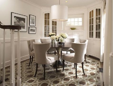 Enjoy A Lavish Dinner With Round Dining Room Sets Inside Best And Newest  (View 6 of 20)
