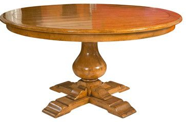 Latest Pedestal Dining Table Attributed To Bausman Furniture With Jazmin Pedestal Dining Tables (View 5 of 20)