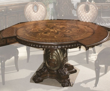 Most Up To Date Aico Round Dining Table Sovereign Ai 57001tb 51 For Yaqub 39'' Dining Tables (View 15 of 20)