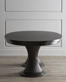 Recent Sevinc Pedestal Dining Tables Intended For Lassater Double Pedestal Dining Table (View 9 of 20)