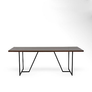 Yaqub 39'' Dining Tables Inside Latest Geometric Base Dining Table #westelm $ (View 9 of 20)