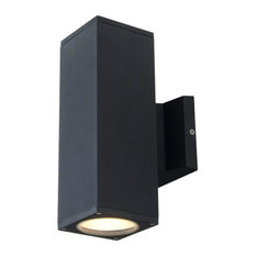 50 Most Popular Contemporary Black Outdoor Wall Lights And For Armanno Matte Black Wall Lanterns (View 16 of 20)