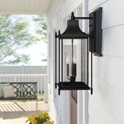 Abbott 3 Light Outdoor Wall Lantern | Joss & Main With Regard To Brookland Outdoor Wall Lanterns (View 3 of 20)