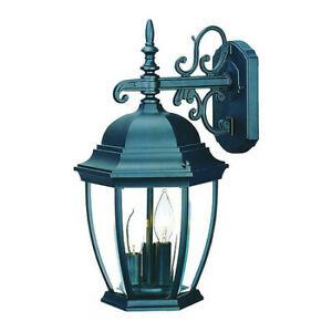 Acclaim Lighting 5032bk Wall Light,matte Black,3 Light   Ebay In Bensonhurst Matt Black Wall Lanterns (View 2 of 20)
