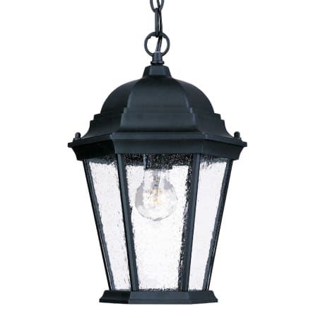 Acclaim Lighting 5206bk/sd Matte Black / Clear Seeded For Palma Black/clear Seeded Glass Outdoor Wall Lanterns (View 2 of 20)