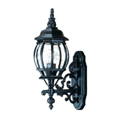 Acclaim Lighting Chateau 3 Head Matte Black Outdoor With Bensonhurst Matt Black Wall Lanterns (View 11 of 20)
