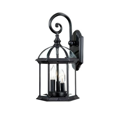 Acclaim Lighting Dover Collection 1 Light Matte Black Throughout Malak Outdoor Wall Lanterns (View 6 of 20)