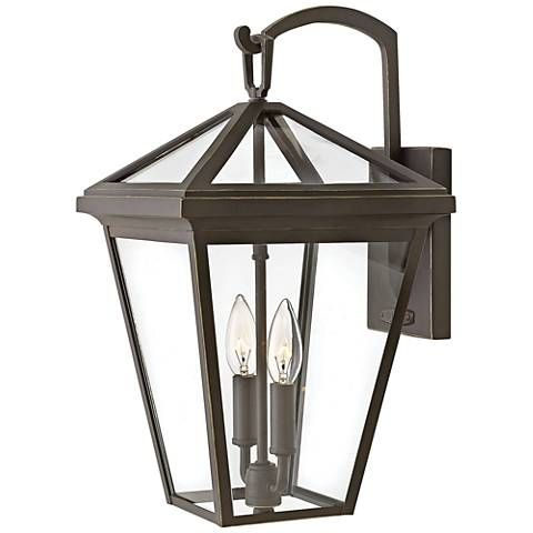"""Alford Place 17 1/2""""h Oil Rubbed Bronze Outdoor Wall Light With Tangier Dark Bronze Wall Lanterns (View 15 of 20)"""