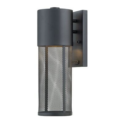 Allmodern Derek Integrated Led Glass Outdoor Armed Sconce Intended For Chazz Integrated Led Outdoor Armed Sconces (View 3 of 20)