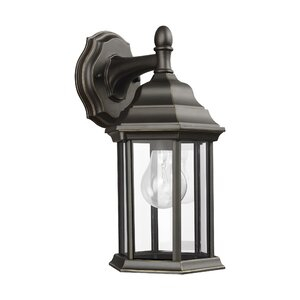 Andover Mills™ Abernethy Outdoor Wall Lantern & Reviews Intended For Abernethy Outdoor Wall Lanterns (View 2 of 20)