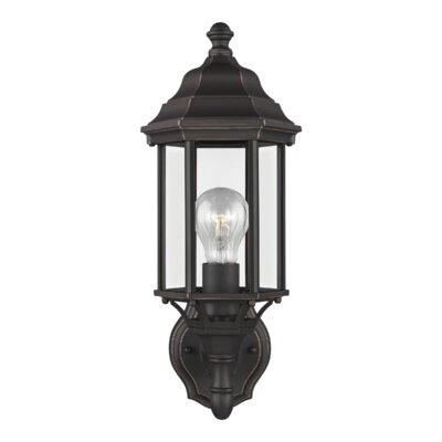 Andover Mills™ Abernethy Outdoor Wall Lantern & Reviews With Regard To Abernethy Outdoor Wall Lanterns (View 3 of 20)