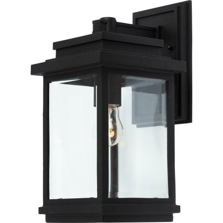 Artcraft Lighting Ac8290bk Black Fremont 1 Light Outdoor With Regard To Armanno Matte Black Wall Lanterns (View 8 of 20)