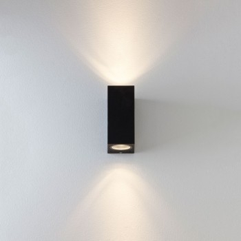 Astro Chios 150 Black Outdoor Wall Light – Uk Electrical With Borde Black Outdoor Wall Lanterns (View 19 of 20)