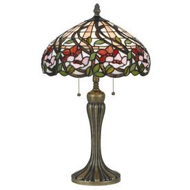 Axis 25 In 3 Way Dark Bronze Indoor Table Lamp With Glass Pertaining To Gillian 3 – Bulb Beveled Glass Outdoor Wall Lanterns (View 18 of 20)