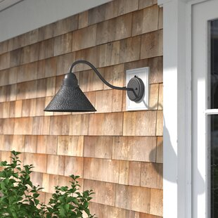 Popular Photo of Gunnora Outdoor Barn Lights With Dusk To Dawn