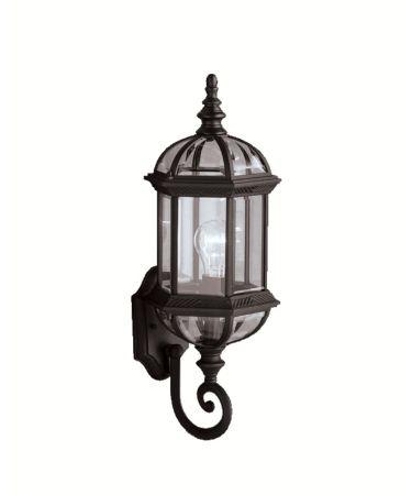 Barrie 21 Inch Tall 1 Light Outdoor Wall Light | Capitol Regarding Rockmeade Black Outdoor Wall Lanterns (View 2 of 20)