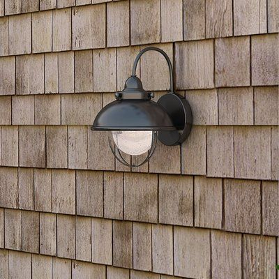 Beachcrest Home Corbel 1 Light Outdoor Barn Light Color Intended For Belleair Bluffs Outdoor Barn Lights (View 1 of 20)