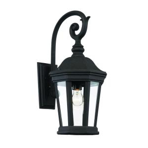 Bel Air Lighting 1 Light Black Outdoor Chateau Villa Wall Pertaining To Socorro Black Outdoor Wall Lanterns (View 5 of 20)