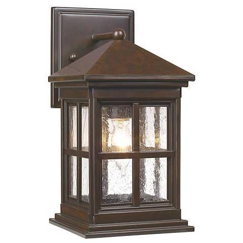 "Berkeley Collection 12"" High Outdoor Wall Light – #33465 Regarding Clarence Black Outdoor Wall Lanterns (View 18 of 20)"