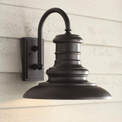 Birch Lane Newfield Outdoor Barn Light & Reviews | Wayfair In Arryonna Outdoor Barn Lights (View 9 of 20)