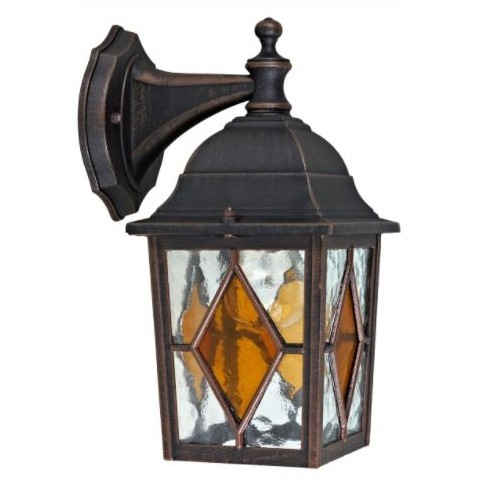 Black Garden Wall Outdoor Light – Hsd Online For Socorro Black Outdoor Wall Lanterns (View 3 of 20)