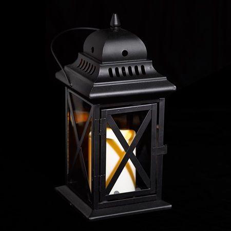 Black Metal Lantern, Lanterns, Event Decor Direct   Metal With Regard To Bensonhurst Matt Black Wall Lanterns (View 14 of 20)