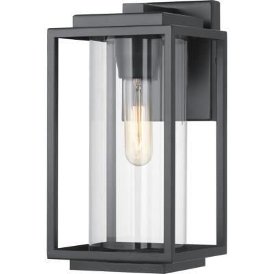 Black – Outdoor Wall Lighting – Outdoor Lighting – The Intended For Keiki Matte Black Outdoor Wall Lanterns (View 13 of 20)