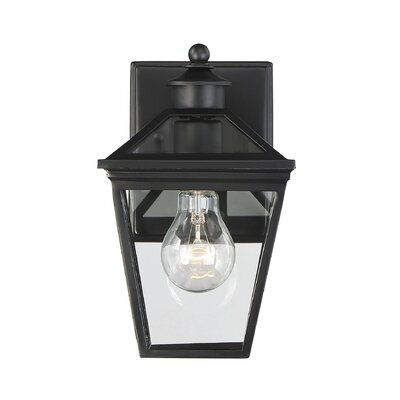 Black Outdoor Wall Lighting You'll Love In 2019 | Wayfair Inside Oneal Outdoor Barn Lights (View 10 of 20)
