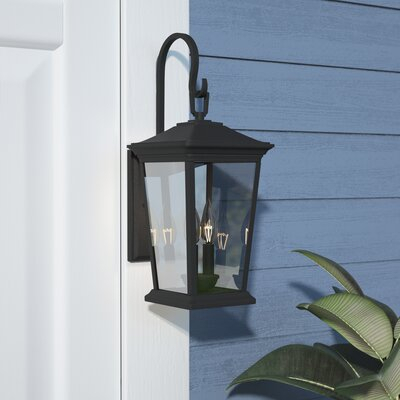 Black Outdoor Wall Lighting You'll Love In 2019 | Wayfair Within Oneal Outdoor Barn Lights (View 6 of 20)