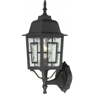 Black Outdoor Wall Lighting You'll Love In 2020 | Wayfair Pertaining To Oneal Outdoor Barn Lights (View 14 of 20)
