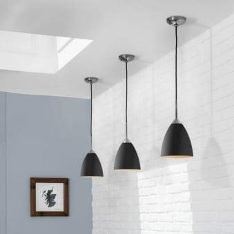 Breakfast Bar Lights | Kitchen Island Lighting | Dusk Lighting Pertaining To Sheard Textured Black 2 – Bulb Wall Lanterns (View 3 of 20)