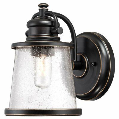 Bronze Outdoor Wall Lighting You'll Love In 2020 | Wayfair Intended For Cantrall 2 – Bulb Outdoor Armed Sconces (View 3 of 20)