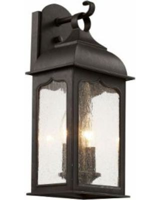 Candle Box 2 Light Outdoor Oiled Bronze Wall Lantern With Intended For Wrentham Beveled Glass Outdoor Wall Lanterns (View 16 of 20)